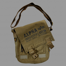 Alpha Industries Cargo Canvas Utility Bag - olive
