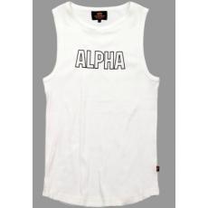 Alpha Industries Track Tank - fehér