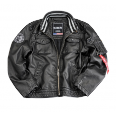 Alpha Industries MC Club Jacket FL - fekete