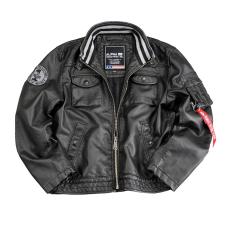 Alpha Industries MC Club Jacket FL - fekete