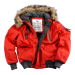Alpha Industries Mountain Jacket - piros