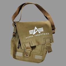 Alpha Industries Big A Canvas Utility Bag - olive táska
