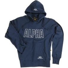 Alpha Industries Track Hoody - sötétkék