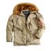 Alpha Industries Explorer - khaki színű kabát