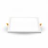 8W LED Beépíthető slim panel- négyzet alakú 4200K 4944
