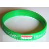 Hunbolt Szilikon,zöld zászlós Hungary karkötő 20 cm