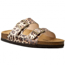 Pepe Jeans Papucs PEPE JEANS - Oban Animal Print PLS90194 Nut Brown 877