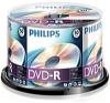Philips 4,7Gb 16x DVD-R, 50db/henger írható és újraírható média