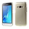 Samsung Galaxy J1 (2016) Szilikon Tok Mercury Goospery Csillámló Arany