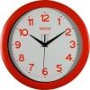 Secco Sweep second Falióra, 30 cm, piros keretes, piros számokkal