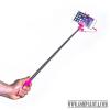 CELLY mini selfie bot,jack csatlakozós,Pink