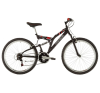 Kenzel FS 800 Matt fekete mtb kerékpár