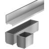 ACO SELF rozsdamentes acél tisztítóelem 105mm-es résmagasság, L=500