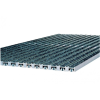 ACO SELF Vario alumínium rács antracit műrost betéttel 75x50cm-es