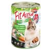 Panzi Fit Active Cat Goose & Rabbit konzerv 415g