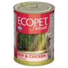 Ecopet Natural Marha-Csirke szószban 405g