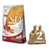 NATURAL&DELICIOUS N&D Low Grain Puppy Medium gránátalmával 2*12kg