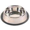 Trixie Gumiperemes fémtál 0,45 liter/14 cm