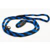 Sokdog fojtó póráz 8mm/120 cm kék-fekete