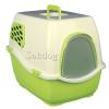 Trixie filteres macska wc zöld/krém, 45*48*57cm