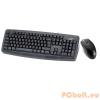 Genius KM-110X PS2 billentyűzet+egér Black Black,PS2,HUN,billentyűzet+egér