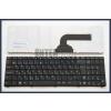Asus K55DE fekete magyar (HU) laptop/notebook billentyűzet