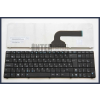 Asus X72DR fekete magyar (HU) laptop/notebook billentyűzet