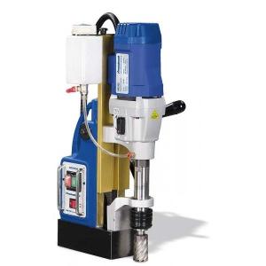 Metallkraft MB 754 sokoldalúan felhasználható mágnestalpas fúrógép, nagy átmérő, gazdagságos és gyors fúráshoz