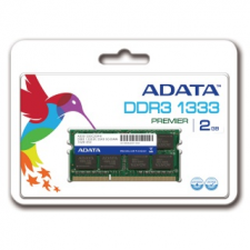 ADATA 4GB 1333MHz DDR3 CL9 Single-channel notebook memória memória (ram)