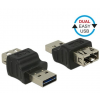 DELOCK Adapter EASY-USB2.0 Type-A apa > EASY-USB2.0 Type-A anya (65640)