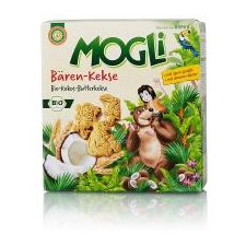 Mogli Mogli bio medve keksz 125 g előétel és snack