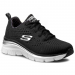Skechers Félcipő SKECHERS - Statement Piece 12704/BKW Black/White