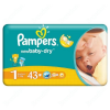 Pampers New Baby 1 újszülött pelenka (2-5 kg) 43db