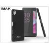 IMAK Sony Xperia X (F5121) hátlap - IMAK Sandstone Super Slim - fekete