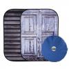 Lastolite Urban 150cm x 210cm Shutter/Distressed Door összecsukható háttér
