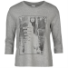 JDY Póló JDY Text Three Quarter Crew Sweater női