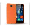 Microsoft Lumia 650 szilikon hátlap - Jelly Flash - narancs tok és táska