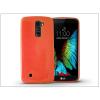 Haffner LG K10 K420N szilikon hátlap - Jelly Flash - narancs