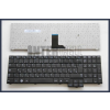 Samsung NP-P580 fekete magyar (HU) laptop/notebook billentyűzet