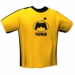 GamersWear GamersWear PADMAN T-Shirt Yellow (S)