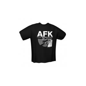 GamersWear GamersWear AFK T-Shirt Black (L)