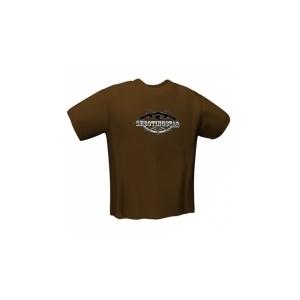 GamersWear GamersWear SHOOTINGSTAR T-Shirt Brown (S)