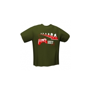 GamersWear GamersWear GAMEPAD DRIBBLER T-Shirt Olive (XXL)
