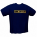 GamersWear GamersWear NOT A CRIME T-Shirt Navy (M)