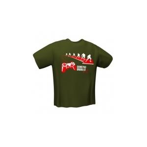 GamersWear GamersWear GAMEPAD DRIBBLER T-Shirt Olive (S)