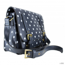 Miss Lulu London L1119D - Miss Lulu Medium táska Polka Dot Navy