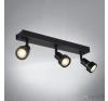 SLV PURI 147380 fekete 3xGU10 max. 50W 40x5,6x8,6cm világítás