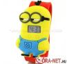 Minion digitális gyerekóra - piros karóra