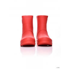 Dorko Női GUMICSIZMA RED COLOR ANKLE BOOT WITH ZIPPER