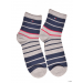 TommyHilfiger Női Boka zokni TH WOMEN COLOR BLOCK STRIPE 2 pár